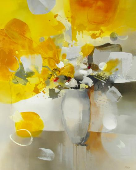 Shinah Lee oil on canvas 48x60