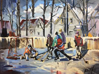robert roy backyard hockey