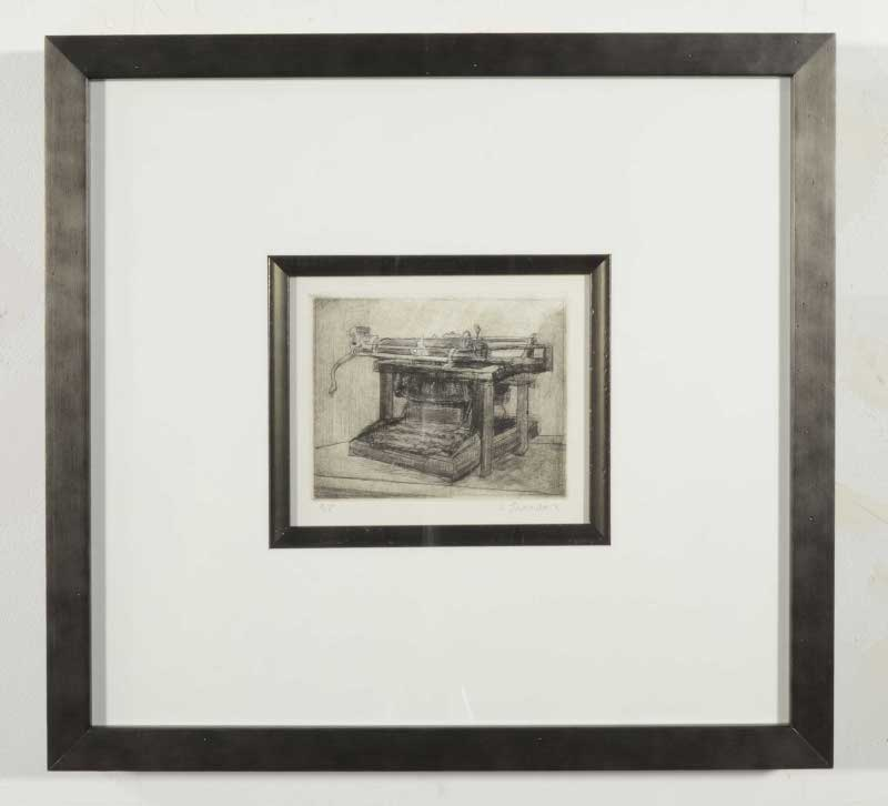 Tremeer drypoint